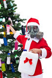 Plastic - it is fantastic for christmas - environmental concept Royalty Free Stock Photography
