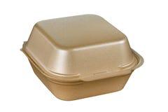 Plastic Fast Food Box Stock Photography