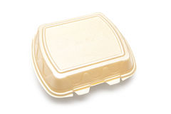Plastic Fast Food Box Stock Photography