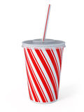 Plastic fastfood cup Stock Photo