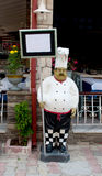 Plastic figure of a chef Royalty Free Stock Image