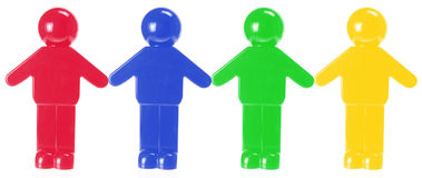 Plastic Figures Royalty Free Stock Photo