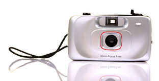 Plastic film camera Royalty Free Stock Photos