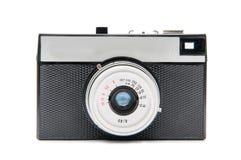 Plastic film camera. Retro film camera isolated on white Royalty Free Stock Photo