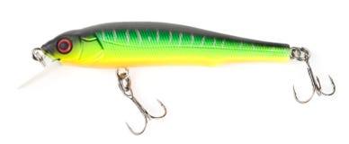 Free Plastic Fishing Lure (wobbler) Isolated On White Stock Image - 12831091