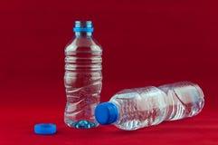 Plastic flaska Royaltyfria Bilder