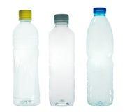 Plastic flaskor Arkivbild
