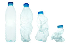 Plastic flaskor Royaltyfri Fotografi