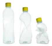 Plastic flaskor Fotografering för Bildbyråer