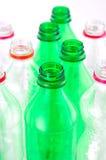 Plastic flaskor Royaltyfria Bilder