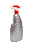 Plastic flaskor av cleaningprodukter Royaltyfri Bild