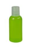 Plastic flaskor för emballage flytande. Arkivfoto