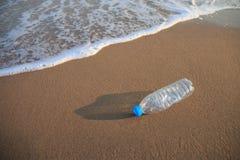 Plastic fles Royalty-vrije Stock Foto