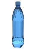 Plastic fles Royalty-vrije Stock Afbeeldingen