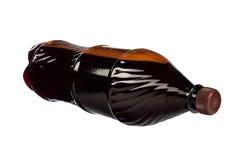 Plastic fles Royalty-vrije Stock Fotografie