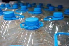 Plastic fles 5 liter Stock Afbeeldingen