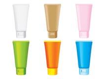 Plastic flessen stock illustratie