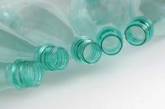 Plastic flessen Royalty-vrije Stock Foto