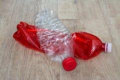 Plastic flessen royalty-vrije stock fotografie