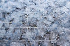 Plastic flessen, Concept het recycling van gebruikt Leeg Stock Afbeelding