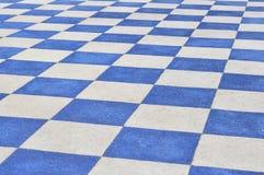Plastic flooring Stock Photo