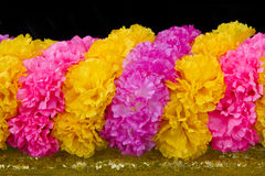 Plastic flower color. Royalty Free Stock Image