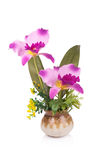 Plastic flower for decoration royalty free stock photo