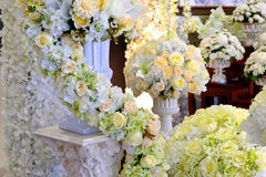 Plastic flower for decoration. Petals flower background rose, flower, flowers Royalty Free Stock Image
