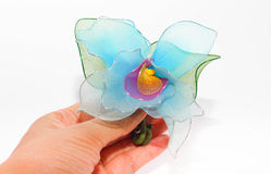 Plastic flower Stock Images