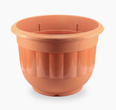 Plastic flowerpot stock photography
