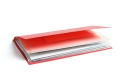 Plastic Folder Royalty Free Stock Photo