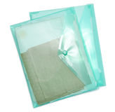 Plastic folder bag Royalty Free Stock Images