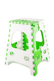 Plastic folding chair Stock Image