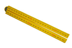 Plastic Folding Ruler Stock Images