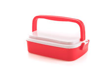 plastic food carrier Royalty Free Stock Image