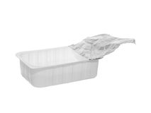 Plastic food container Royalty Free Stock Photography