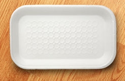 Plastic food container Stock Image