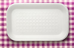 Plastic food container Stock Photos