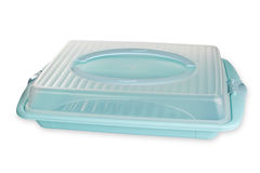 Plastic Food container Royalty Free Stock Images