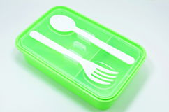 Plastic food container Stock Photography