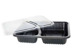 Plastic food container. Royalty Free Stock Images