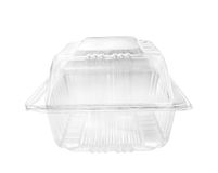 Plastic food container. Royalty Free Stock Photography