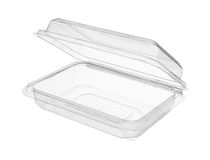 Plastic food package Royalty Free Stock Photos