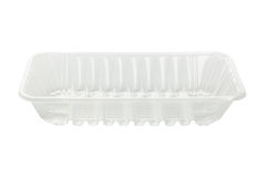 Plastic Food Tray Royalty Free Stock Photography