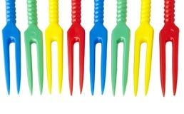 plastic fork Stock Photos