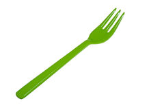 Plastic fork Stock Images