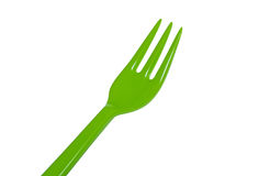Plastic fork Royalty Free Stock Photography