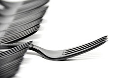 Plastic Fork - Shallow Depth of Field Royalty Free Stock Photo