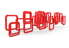 Plastic frames Stock Photo