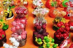 Plastic fruit decoration Royalty Free Stock Photography